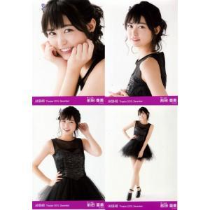 前田亜美 生写真 AKB48 Theater 2015.December 月別12月 4枚コンプ fuwaneko