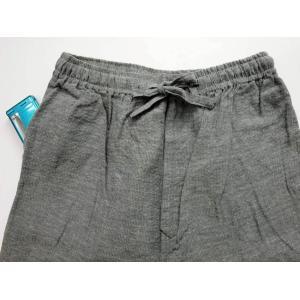 夏 作務衣 麻混で涼しい メンズ 夏用 さむえ|fuwari|09