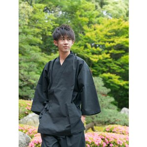 作務衣 男性用 特注の足首ゴム式 メンズ  おしゃれ さむえ 日本製|fuwari|14