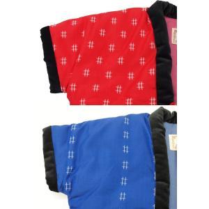 子供 ちゃんちゃんこ ポンチョ 袖なし半纏 男の子 女の子 日本製 90 100 110|fuwari|06