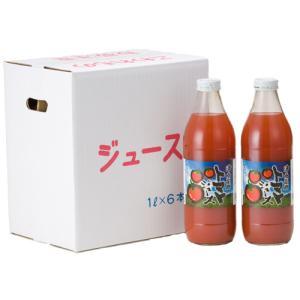 津南高原完熟トマトジュース 1000ml 6本|fuzi-tokusann