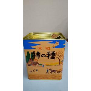 浪花屋 柿の種 縦缶 190g入 fuzi-tokusann