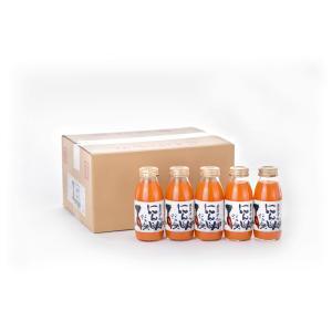 にんじんジュース98% 200ml 20本|fuzi-tokusann