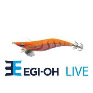 ヤマシタ エギ王 ライブ 3.5号 031 オレンジレッド