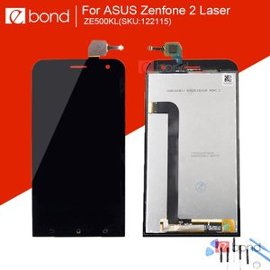 【工具付き】ASUS Zenfone 2 Laser(ZE500KL) 液晶 パーツ 画面 LCD 修理 交換 部品 (郵便/メール便配送)|fwsotre