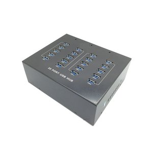 【充電・同期通信】同時対応 20ポート2.1A USB Hub(USB3.0)|fwsotre