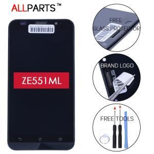 【工具付き】ASUS Zenfone 2(ZE551ML) 液晶 画面 LCD 修理 交換 部品 (郵便/メール便配送)|fwsotre