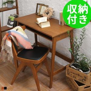 デスク 机 おしゃれ 収納 木製 アンティーク パソコンデスク 90cm 90 hommage オマージュの写真