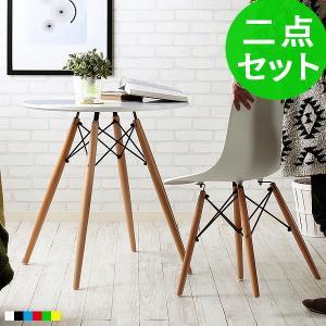 ダイニングテーブルセット 白 おしゃれ 北欧 木製 丸 ダイ...