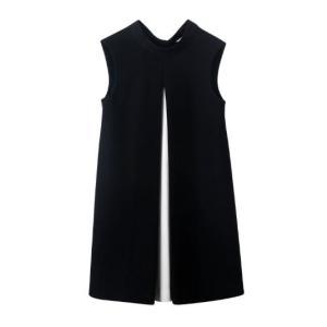 マタニティドレス ワンピース 膝丈 ひざ丈 ショート丈 ノースリーブ リボン 体型カバー カジュアル お出掛け 大きいサイズ ホワイト ブラ|g-c|09