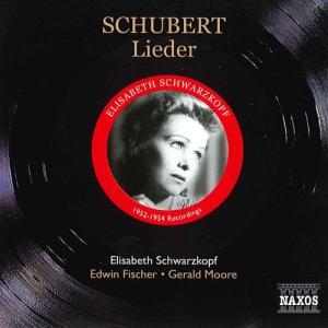 シューベルト:歌曲集 シュヴァルツコップ Schwarzkopf 1952 - 1954 NAXOS...