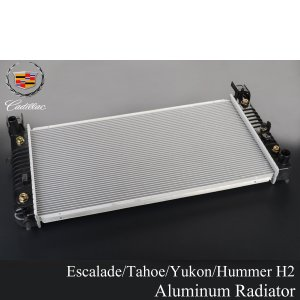 エスカレード ハマーH2 タホ ユーコン ラジエーター 02-06y E026|g-cr