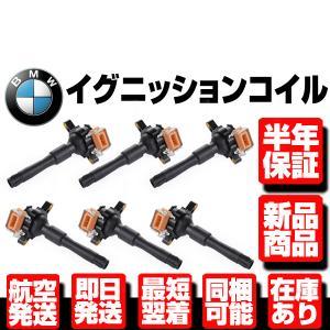 BMW E31 E36 E38 E39 E46 イグニッションコイル 6本 W025|g-cr