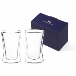 サーモ タンブラー ペア グラス セット 330ml 二重構造 耐熱ガラス ウェルナーマイスター|g-designer|02