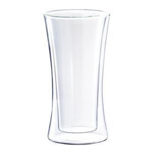 サーモ タンブラー ペア グラス セット 330ml 二重構造 耐熱ガラス ウェルナーマイスター|g-designer|03