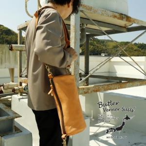 バトラーバーナーセイルズ 馬革ロールショルダー バッグ 鞄 BAG 本革 ギフト プレゼント 肩掛け ボディバッグ 通勤 通学 日本製Butler Verner Sails g-field