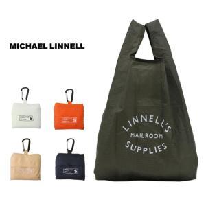 マイケルリンネル エコバッグ ECO トートバッグ  MICHAEL LINNELL Shopping Bag (S) 携帯 コンパクト 小型 ギフト プレゼント カラビナ付き g-field