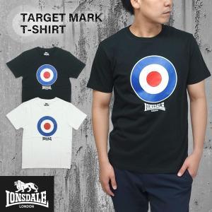 LONSDALE(ロンズデール)ターゲットマーク Tシャツ メンズ 半袖 ベーシック シンプル g-fine