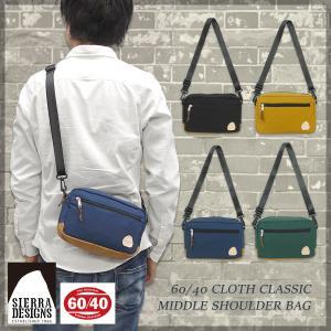 SIERRA DESIGNS(シエラデザインズ)60/40 クラシック ミドルショルダーバッグ  斜め掛け 肩掛け 鞄 小型|g-fine