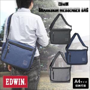 EDWIN(エドウイン)シャークスキン メッセンジャーバッグ g-fine