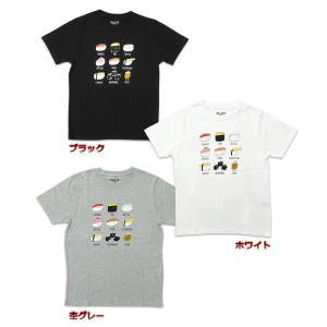 おしゅしだよ おしながき Tシャツ 半袖 グッズ キャラクター g-fine 02
