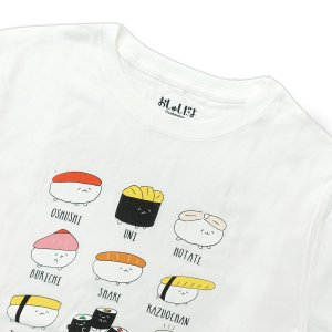 おしゅしだよ おしながき Tシャツ 半袖 グッズ キャラクター g-fine 03