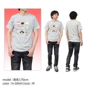 おしゅしだよ おしながき Tシャツ 半袖 グッズ キャラクター g-fine 05