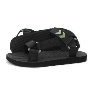 ヒュンメル hummel レディース メンズ サンダル ストラップ サンダル STRAP SANDAL 211374-2001 ブラック 黒 g-fine