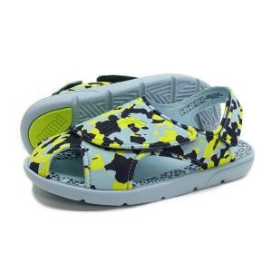 【KID'S】PUMA(プーマ サンダル)Summer Sandal 2 Camo PS(サマー サンダル 2 カモ PS)(365088-01/ピーコート)キッズ 子供靴 水遊び 子供用サンダル|g-fine