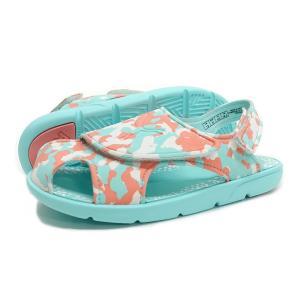 【KID'S】PUMA(プーマ サンダル)Summer Sandal 2 Camo PS(サマー サンダル 2 カモ PS)(365088-03/ソフトフローピーチ)キッズ 子供靴 水遊び 子供用サンダル|g-fine