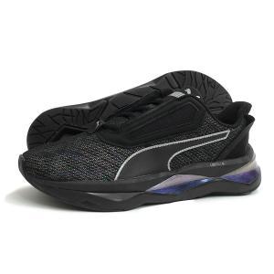 PUMA(プーマ)LQDCELL SHATTER XT LUSTER WMNS(リキッドセル シャッター XT ラスター)(192681-01/プーマブラック) スニーカー 靴 ウィメンズ レディース 黒|g-fine
