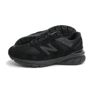 new balance(ニューバランス)M990 BB5(ブラック) スニーカー 黒 メンズ Made in USA アメリカ製 US製 運動靴|g-fine
