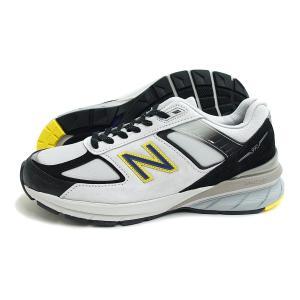 new balance(ニューバランス)M990 SB5(シルバー/ブラック) スニーカー  メンズ Made in USA アメリカ製 US製 運動靴|g-fine