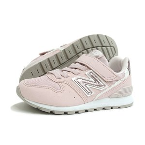 【KID'S】new balance(キッズ ニューバランス)YV996 PPK(シェルピンク)軽量 子供靴 ジュニア 靴 通気性 プレゼント ギフト 運動会 遠足|g-fine