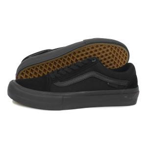 VANS(バンズ)Old Skool Pro(オールド スクール プロ)(VN000ZD41OJ)(ブラックアウト) スニーカー 靴 黒 メンズ レディース|g-fine