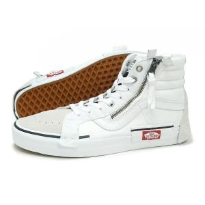 VANS(バンズ)SK8-HI RESISUE CA(VN0A3WM127I)(トゥルーホワイト/ブラック) スニーカー メンズ レディース ハイカット 海外企画 靴|g-fine