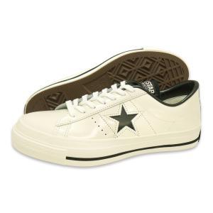 CONVERSE(コンバース)ONE STAR J(ワンスター J)(ホワイト/ブラック)|g-fine