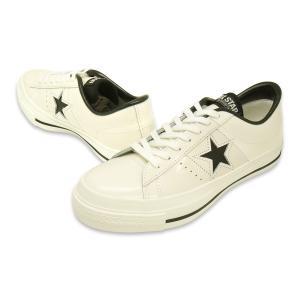 CONVERSE(コンバース)ONE STAR J(ワンスター J)(ホワイト/ブラック)|g-fine|02