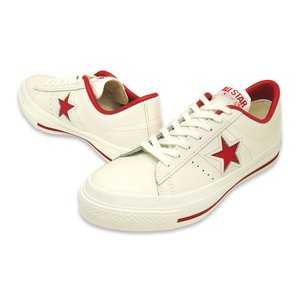 CONVERSE(コンバース)ONE STAR J(ワンスター J)(ホワイト/レッド)|g-fine|02