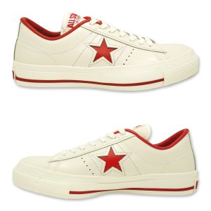 CONVERSE(コンバース)ONE STAR J(ワンスター J)(ホワイト/レッド)|g-fine|05