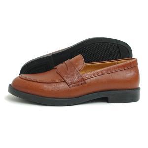 MOONSTAR SKOOLER(ムーンスター スクーラー)SK LOAFER(ローファー)(ブラウン)  日本製 本革 革靴 カジュアルシューズ レディース メンズ 茶 軽量|g-fine