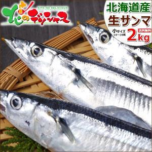 【予約】 生サンマ 2kg(小サイズ/14尾〜16尾入り/冷...