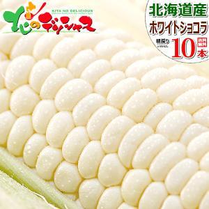 【予約】 とうもろこし ホワイトショコラ 10本入り 北海道...