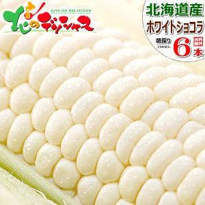 【予約】 とうもろこし ホワイトショコラ 6本入り 北海道産...