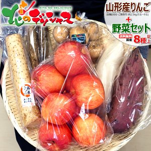 【出荷中】山形県産 さくらんぼ & 野菜セット E (さくらんぼ約500g+野菜8種類) サクランボ...