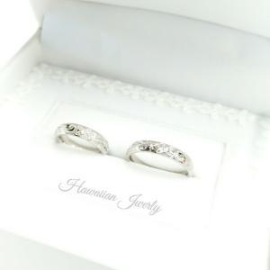 『世界にひとつのハワイアンジュエリー』 マリッジリング ペアリング ハワイアンジュエリー 結婚指輪 ...