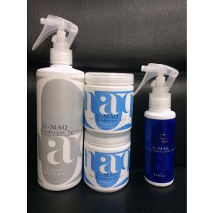 強力消臭剤がセットでお得:G-MAQ ジーマック 抗菌・消臭スプレー Super 1本 + 消臭ジェル Super 2個 + 衣類用スプレー(携帯用)1本 セット|g-maq