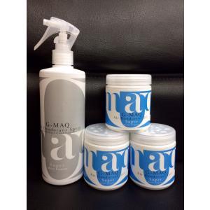 強力消臭剤がセットでお得:G-MAQ ジーマック 抗菌・消臭スプレー Super 1本 + 消臭ジェル Super 3個 セット|g-maq