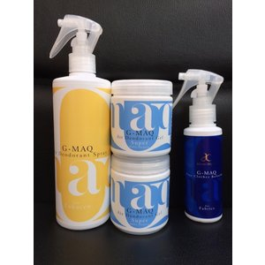 強力消臭剤がセットでお得:G-MAQ ジーマック タバコ消臭スプレー 1本 + 消臭ジェル Super 2個 + 衣類用スプレー(携帯用)1本 セット|g-maq