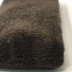 消臭・抗菌・速吸スマートバスタオル(今治タオル)<ブラウン> -34cm×120cm- G-MAQ Tech. Products|g-maq